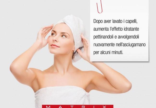 Un nuovo consiglio di bellezza per ottenere capelli più idratati dopo lo shampoo